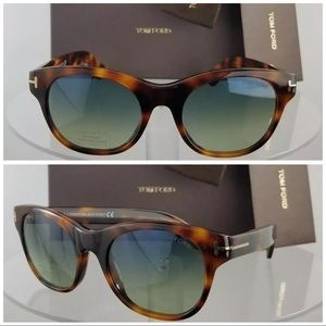 New Authentic Tom Ford Sunglasses TF 0532 53W Ally
